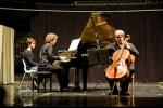 """15 IX 2012 MITO per la città - Concerto del Duo violoncello e pianoforte del Conservatorio Giuseppe Verdi di Torino • <a style=""""font-size:0.8em;"""" href=""""http://www.flickr.com/photos/28437914@N03/7991320750/"""" target=""""_blank"""">View on Flickr</a>"""