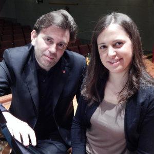 Roberto Issoglio, Stéphanie Vuillermoz